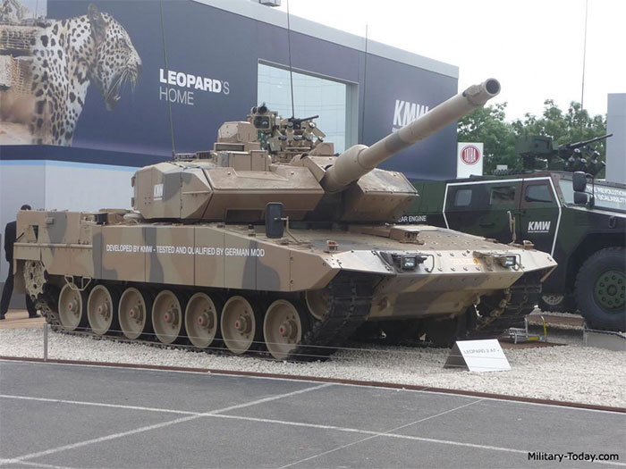 Xe tăng Leopard 2A7, Đức