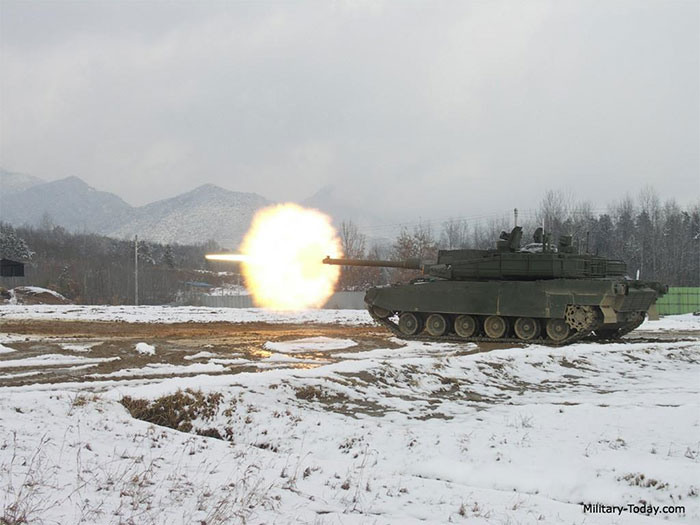 Xe tăng K2 Black Panther, Hàn Quốc
