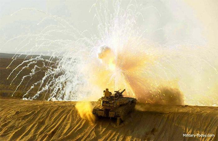 Xe tăng Merkava Mk4, Israel