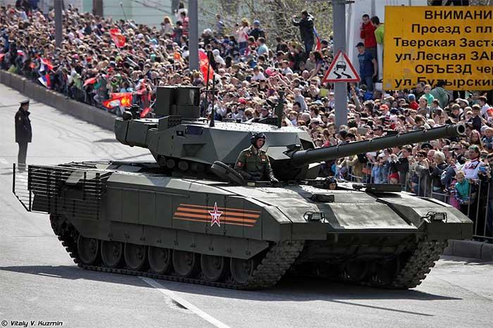 Xe tăng T-14 Armata, Nga