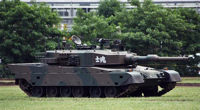 Xe tăng Type-90, Nhật Bản