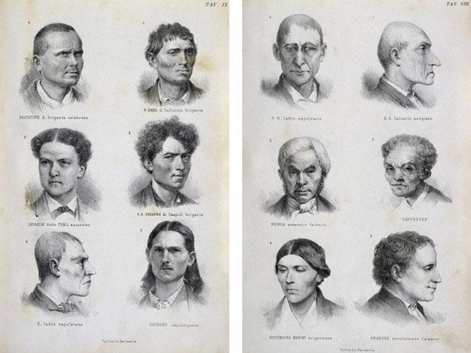 Bác sĩ Lombroso được biết đến như cha đẻ của khoa học tội phạm.