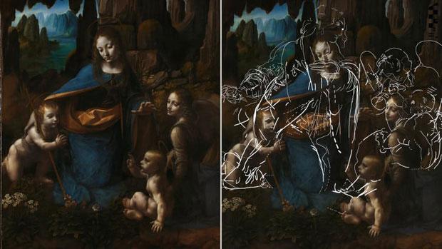 Các chuyên gia phát hiện một phác họa ẩn dưới phiên bản 1508