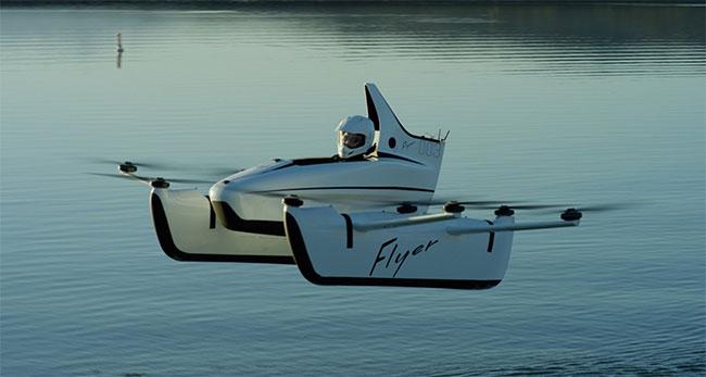 Flyer có thể đạt tốc độ lên tới 160km/h nhưng cần thử nghiệm thêm.