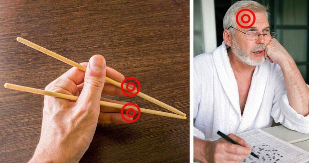 Ăn bằng đũa