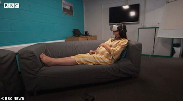 Các thai phụ đánh giá tích cực về hiệu quả thiết bị thực tế ảo.