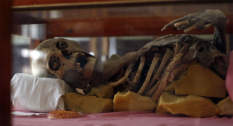 Xác ướp tìm thấy ở Yemen