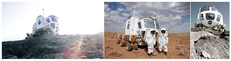 Lunar Electric Rover, xe vượt địa hình NASA dùng để chinh phục Mặt trăng