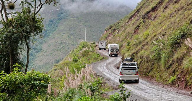 Tuyến đường nằm ở Costa Rica là một trong những chặng nguy hiểm hàng đầu