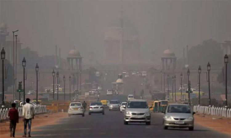 Khói bụi ô nhiễm ở New Delhi, Ấn Độ