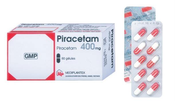 Thuốc Piracetam 400mg.