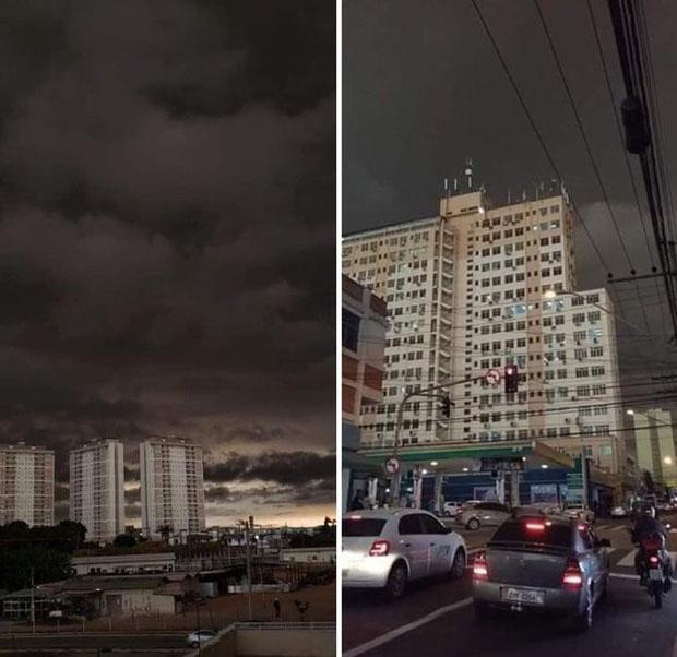 Cảnh tượng quen thuộc ở São Paolo trong tuần qua