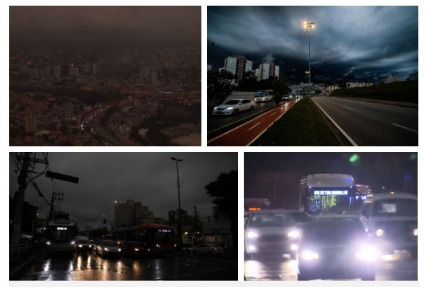 """Hình ảnh được ví như """"tận thế"""" ở São Paolo - đô thị đông dân nhất Brazil."""