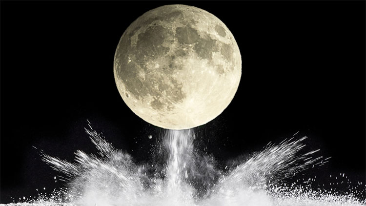 Theo kế hoạch, tên lửa mang bom hạt nhân loại nhỏ sẽ cho nổ trên bề mặt mặt trăng.