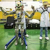 Nga lần đầu tiên phóng robot mang hình người lên ISS