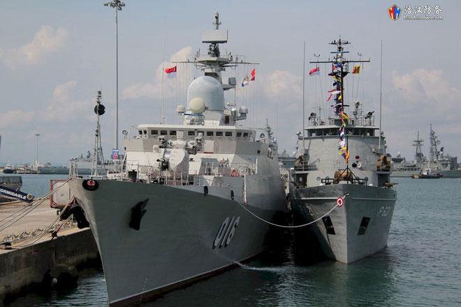 Đây là lần đầu tiên Việt Nam cử tàu chiến tham dự triển lãm IMDEX