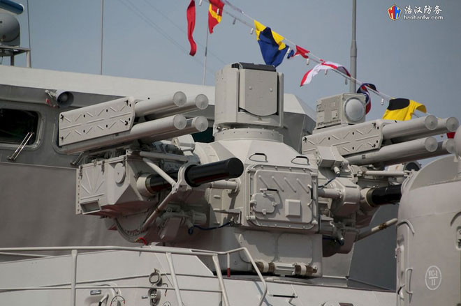 Tổ hợp vũ khí đánh chặn tầm gần Palma-SU