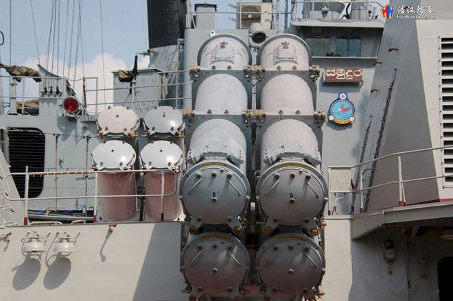 Tàu 016-Quang Trung được trang 8 tên lửa chống hạm Kh-35 Uran-E có tầm bắn lên đến 130km