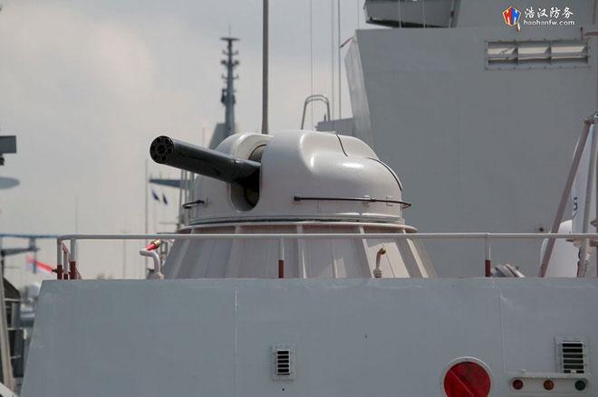 Có nhiệm vụ tương tự như Palma-SU và được bố trí ở đuôi tàu là hai tổ hợp pháo phòng không cao tốc AK-630M