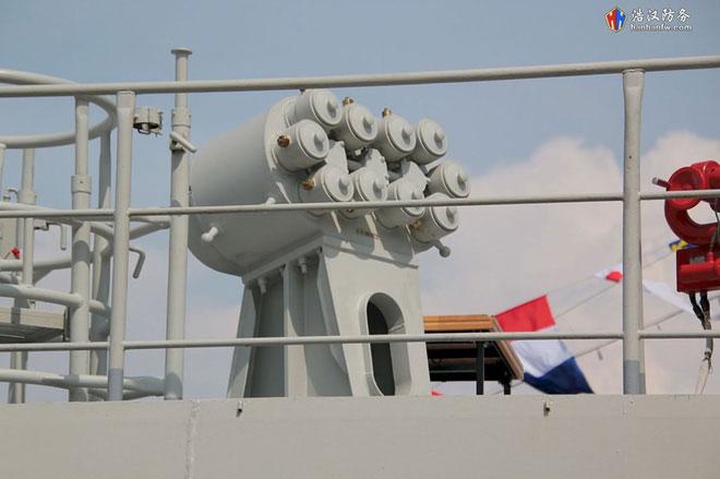 Tổ hợp mồi bẫy nhiệt PK-16 mà Tàu 016 - Quang Trung được trang bị.