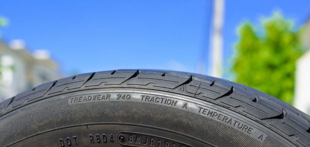 Mã UTQG - chỉ chất lượng lốp