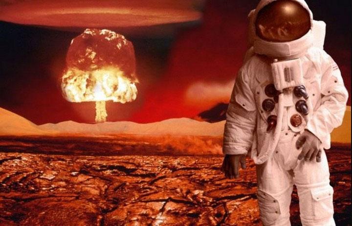 Elon Musk muốn cho nổ bom hạt nhân trên sao Hỏa