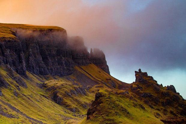 Skye được ban tặng cảnh quan thiên nhiên đẹp mê hồn.