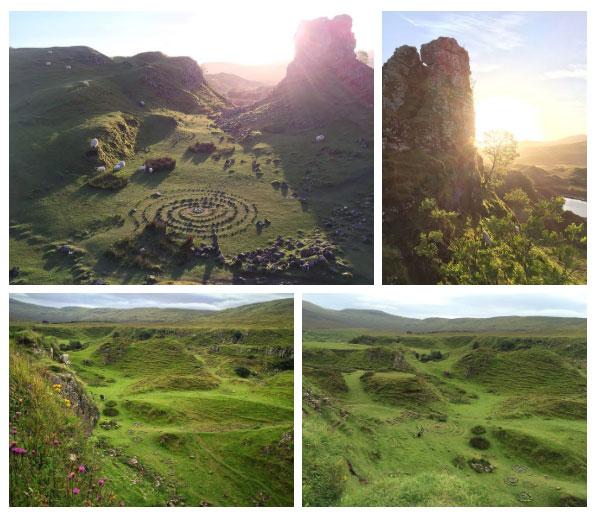 Khu vực này giống hệt một tiểu Skye trong lòng Skye.