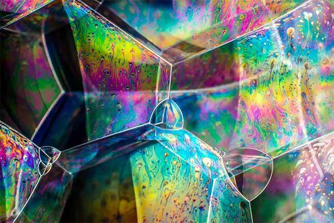 Cấu trúc bong bóng xà phòng