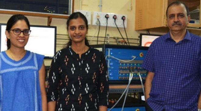 Nhóm nghiên cứu tại Viện Công nghệ Madras.