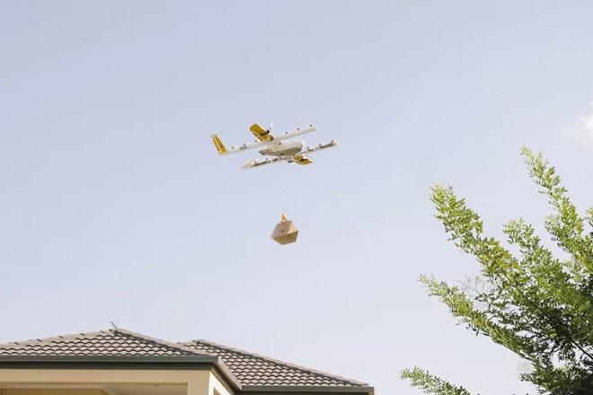 Máy bay giao hàng của Wing.