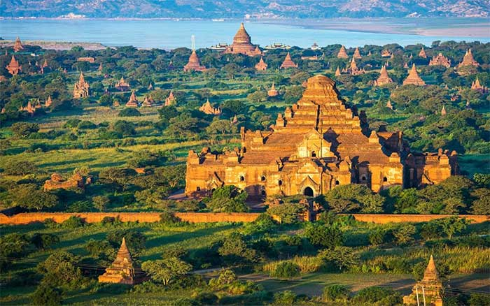 Kỳ quan thế giới cổ đại ở Bagan
