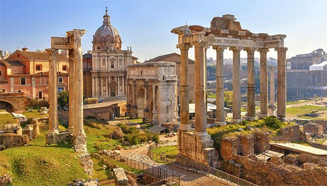 Khu thương mại La Mã cổ đại
