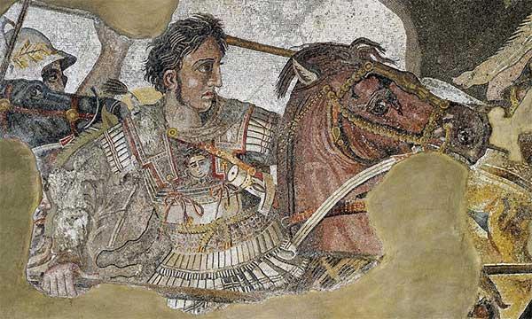 Lực lượng của Alexander Đại đế bị tổn thất không nhỏ khi đối mặt với kiểu tấn công nguy hiểm này.