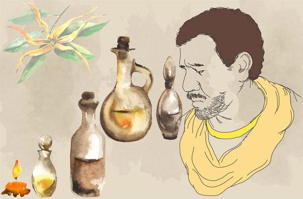 Ziryab phát minh ra chất khử mùi cho nách