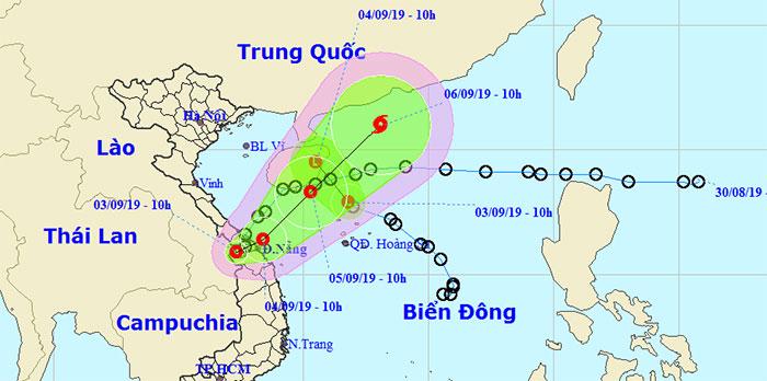 Vị trí của 2 áp thấp nhiệt đới.