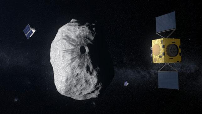 Cơ quan Nghiên cứu Vũ trụ châu Âu (ESA) đang nghiên cứu vị trí va chạm và tìm hiểu hướng đi mới của tiểu hành tinh