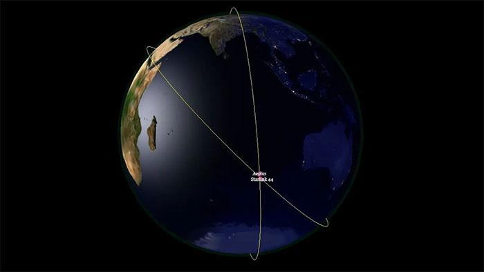 Vệ tinh Aeolus và Starlink 44 có tỷ lệ va chạm là 1/1.000.