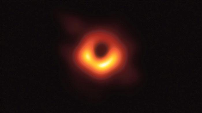Hình ảnh lỗ đen do Dự án Hợp tác kính thiên văn chân trời sự kiện tìm ra