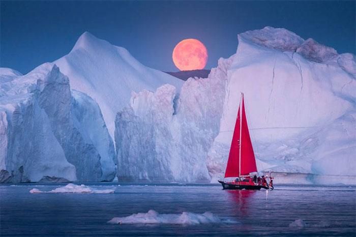 Mùa hè năm nay là một trong những mùa hè nóng nhất ở Greenland.