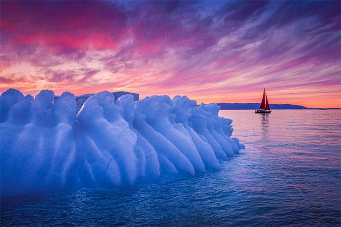 Greenland nóng không chỉ bởi vì nhiệt độ tăng, mà còn vì bị quá nhiều tàu du lịch tìm đến