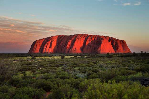 Sa mạc cát lớn ở Australia