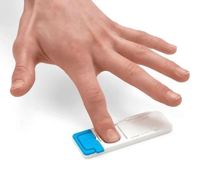 Xét nghiệm vân tay thông minh có thể phát hiện dấu vết của ma tuý trong mồ hôi tay người dùng.