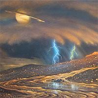 """""""Soi"""" chất lạ Propadiene trên Mặt trăng Titan sao Thổ"""