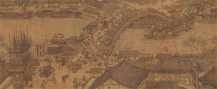 Minh thanh thượng hà đồ thời Bắc Tống