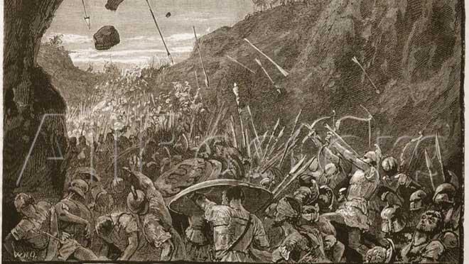 Thảm họa của đội quân Athen tại Syracuse.