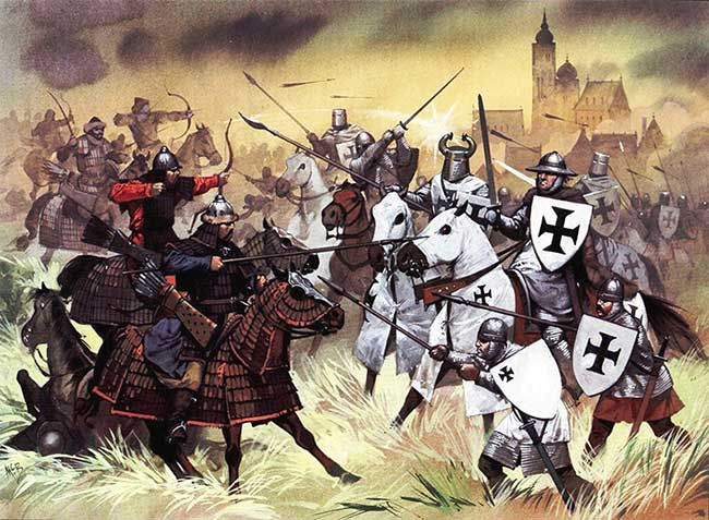 Đại quân Mông Cổ đã từng tiến đến sông Danube nhưng rồi lại rút lui.