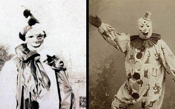 Hình ảnh các chú hề trong thế kỷ 19
