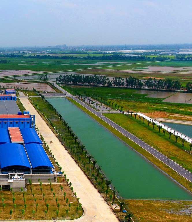 Khi đi vào vận hành, Nhà máy nước mặt sông Đuống đảm bảo đủ cung cấp nguồn nước sạch cho 1/3 dân số Hà Nội