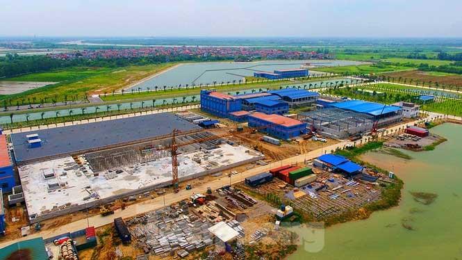Dự án Nhà máy nước mặt sông Đuống sẽ phát triển và mở rộng liên tục đến năm 2023 đạt 600.000m3/ ngày đêm